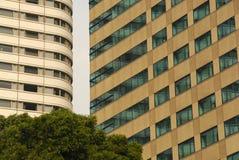 Proximité des bâtiments Image libre de droits