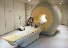 Proyección de imagen de resonancia magnética Foto de archivo libre de regalías