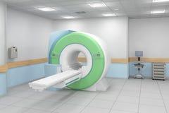 Proyección de imagen de resonancia magnética Imagen de archivo