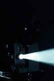 Proyección del proyector de película Imagenes de archivo