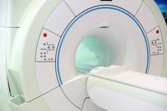 Proyección de imagen de resonancia magnética Imagenes de archivo
