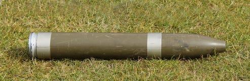Proyectil de artillería. Imágenes de archivo libres de regalías