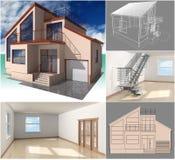 Proyecto. stock de ilustración