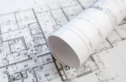 Proyecto arquitectónico Fotografía de archivo