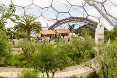 Proyecto Cornualles de Eden imagen de archivo libre de regalías