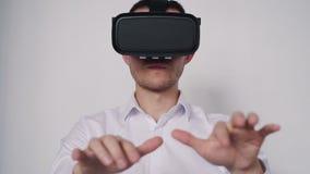 Proyecto creativo interactivo de 360 simulaciones para la experiencia profesional almacen de metraje de vídeo