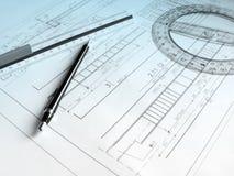 Proyecto de construcción Imagen de archivo