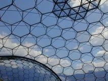 Proyecto de Eden - bioma Imagen de archivo libre de regalías