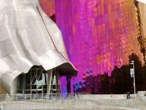 Proyecto de la música de la experiencia (EMP) Seattle Imagen de archivo libre de regalías