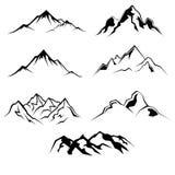 Proyecto de la montaña Foto de archivo libre de regalías