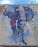 proyecto de 42 murales, ` de Deepellumphants del ` de Adrian Torres, Ellum profundo, Tejas Imagen de archivo