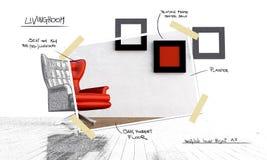 Proyecto de Restyling ilustración del vector