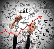 Proyecto del análisis de negocio stock de ilustración