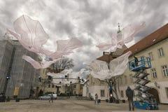 Proyecto del arte de aire abierto Imagenes de archivo