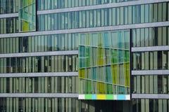 Proyecto del código de barras de Oslo - fachada Imágenes de archivo libres de regalías