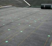 Proyecto del material para techos Imagenes de archivo