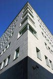 Proyecto moderno del °° cuarto de BICOCCA. ° blanco Milano, Italia del edificio Fotos de archivo