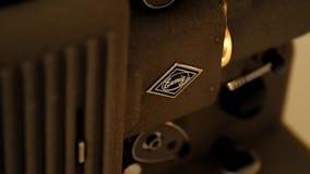 proyector almacen de metraje de vídeo