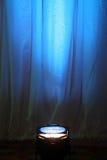 Proyector azul Imagen de archivo