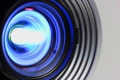 Proyector azul Fotos de archivo libres de regalías