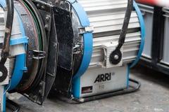 Proyector de Arri fotos de archivo libres de regalías