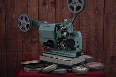 Proyector de película con la película fotos de archivo libres de regalías
