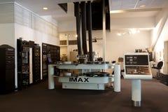 Proyector de película de IMAX fotografía de archivo libre de regalías