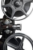 Proyector de película del número uno Imagen de archivo libre de regalías