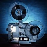 Proyector de película del número uno Fotos de archivo libres de regalías