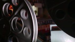 Proyector de película del vintage en 35m m