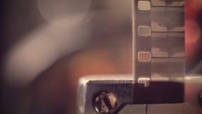 Proyector de película del vintage Primer de la película móvil metrajes