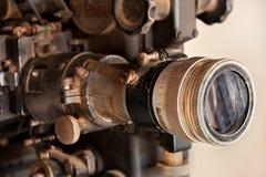 Proyector de película viejo Imagen de archivo libre de regalías