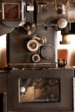 Proyector de película viejo Fotos de archivo libres de regalías