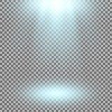 Proyector del vector, efecto luminoso Fotografía de archivo