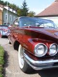 Proyectores americanos clásicos del coche Fotos de archivo