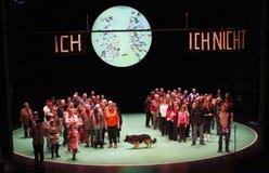 100 Prozent Berlino (Rimini Protokoll) Fotografia Stock Libera da Diritti