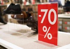 70-Prozent-Rabatt Lizenzfreie Stockfotografie