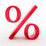 Prozent-Symbol Vektor Abbildung