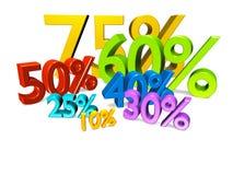 Prozente illustrazione vettoriale