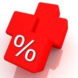 Prozente Lizenzfreie Stockbilder