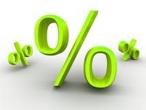 Prozente. Lizenzfreies Stockbild