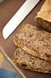 Prozess des selbst gemachten Brotes Lizenzfreies Stockfoto