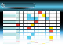 Prozessdiagramm Stockbild