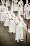 Prozession auf den Straßen stockbilder