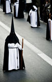 Prozession auf den Straßen Stockfoto