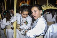 Prozession der Basilika von Santa Maria lizenzfreies stockfoto