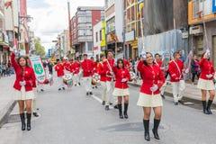 Prozession und Parade Ipiales Kolumbien in der Karwoche Lizenzfreies Stockfoto