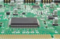Prozessor auf Leiterplatte Lizenzfreies Stockbild