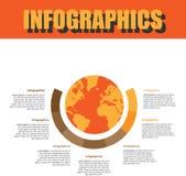Prozessschritt Infographics stockfotos