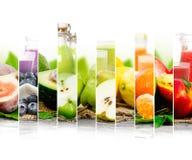 Préparation de boissons de fruit Photos libres de droits